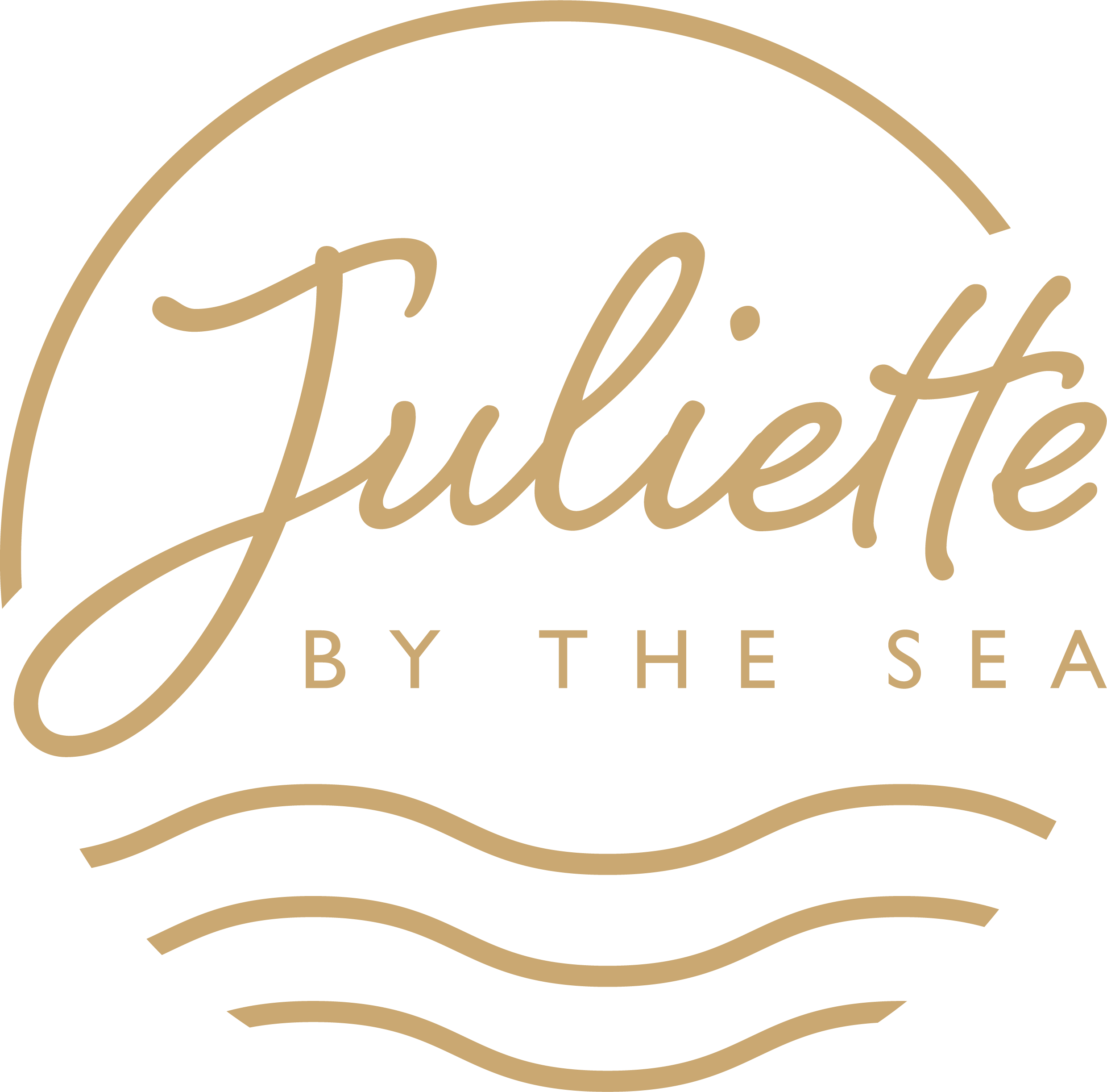 Juliette by the sea celebrant logo