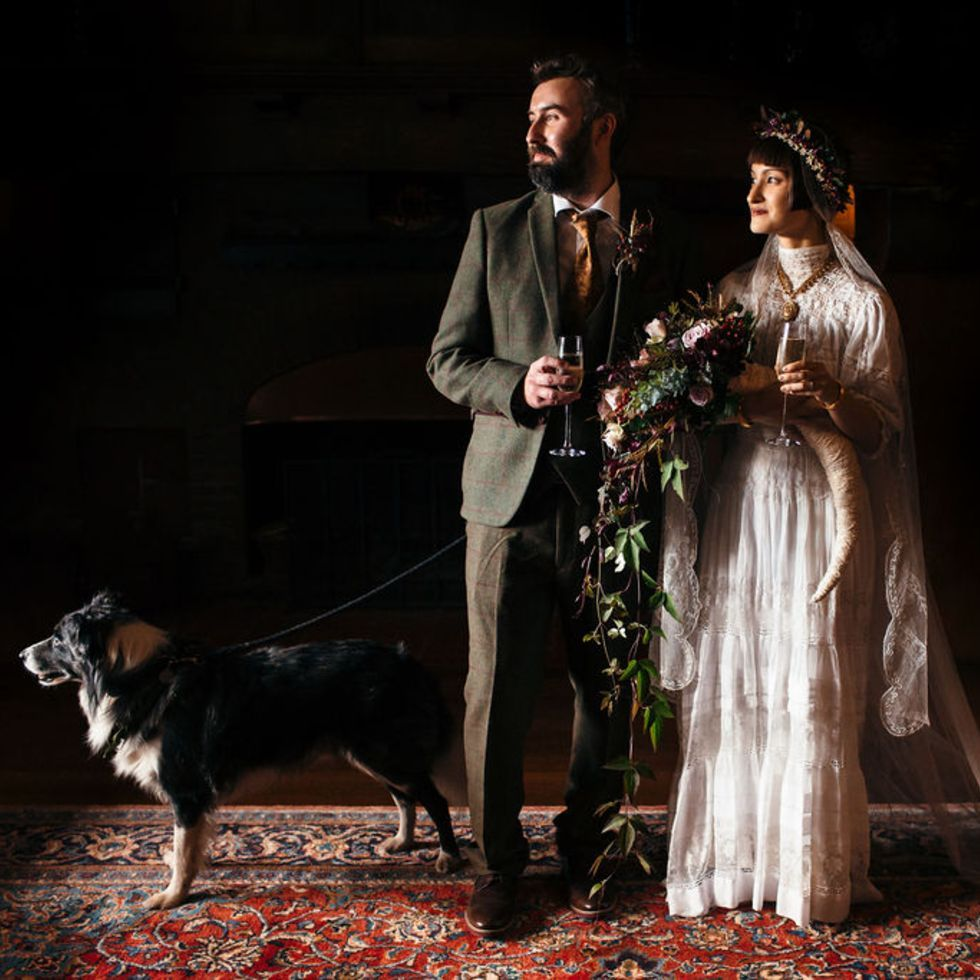 wedding celebrant, couple at ceremony
